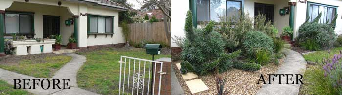 Before and After Gardens - Arcadia Sustainable Design