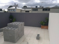 Port Melbourne Rooftop Courtyard BEFORE