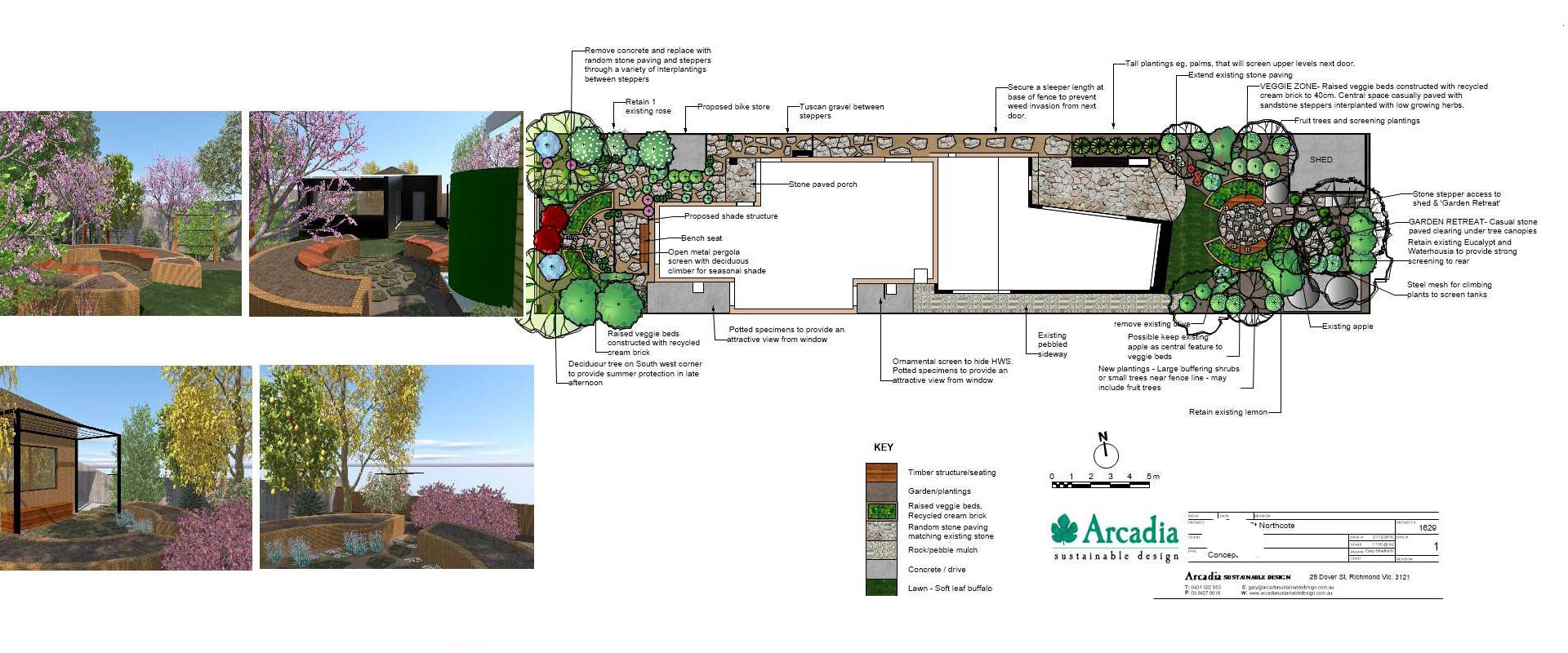 Landscape design services arcadia sustainable design for Landscape design services