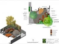 Glenlyon Rd Brunswick East Landscape CONCEPT PLAN
