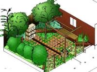 Pacsoe Vale South Rear Courtyardin 3D