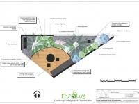 St Kilda Rooftop Courtyard Design